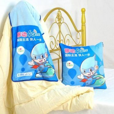 厂家现货可定制图案抱枕被定制卡通多功能两用PP棉汽车靠垫抱枕