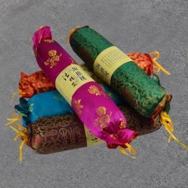 【竹炭枕】绸缎糖果型会销礼品赠品 定制竹炭颈椎花草保健枕头