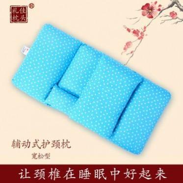 颈椎枕-荞麦枕-辅动式护颈枕-礼佳枕头(不加药)